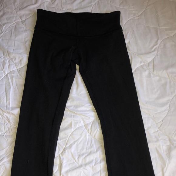 black wunder under leggings